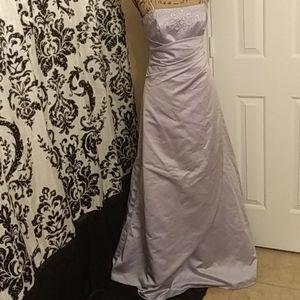 Lovely Lilac David's Bridal dress
